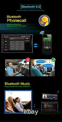 7''autoradio Stereo Android 10 Gps Navi Radio Wifi 4g Bt Dab+ Aux For Universal