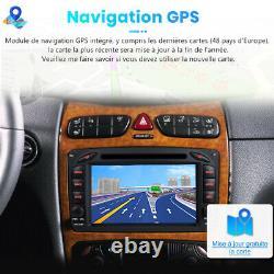 7android10 Autoradio For Mercedes Benz W203 W209 Gps Navi DVD Player Wifi Dab+