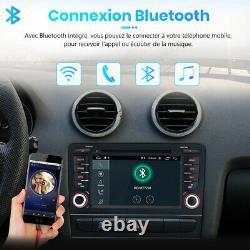 7android Autoradio For Audi A3 S3 Rs3 2003-2012 Bluetooth Gps Navi CD Wifi Usb
