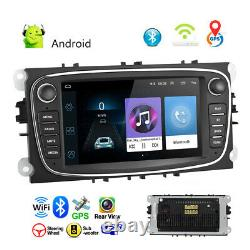 7autoradio Android 8.1 Gps Navi Bluetooth Wifi Mp5 For Ford Focus Mondeo C-max