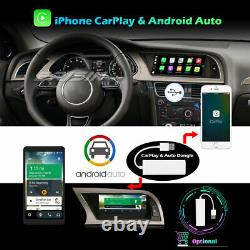 8.8 Dab+android 10 Ips Autoradio Audi A4 2013-2016 Gps Wifi Carplay Navi 4g Swc