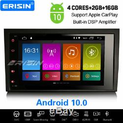 8 Android 10.0 Dab + Radio Dsp Carplay Navi Sd Audi A4 S4 Rs4 Rns-e Seat Exeo