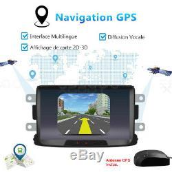 8 Android 8.1 Car Gps Navi 2 Din For Renault Dacia Duster / Sandero / Logan