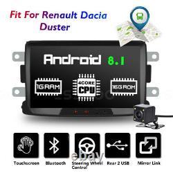 8 Autoradio Android 8.1 Gps Navi Wifi -camera For Renault Dacia Duster Sandero