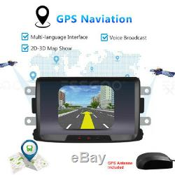 8 Car Android Bluetooth Gps Navi 2 Din For Renault Dacia Duster Sandero