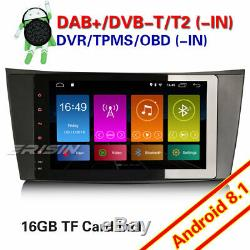 8 Dab + Mercedes Benz Car Audio Android 8.1 Gps E / Cls / G W211 W219 W463 Navi Wifi