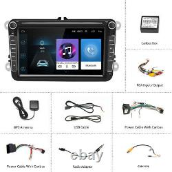 8 Gps Radio Navi Bluetooth 2din For Vw Golf 5 6 Passat Touran Tiguan Polo