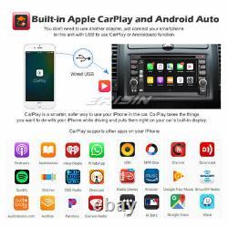 8-core Android 10.0 Universal 2din Autoradio Dab Navi Dsp Carplay Bt For Nissan