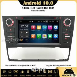 8-core Android 10 Autoradio Gps Dab-carplay Navi Bmw 3 Series E90 E91 E92 E93 M3