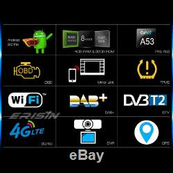 8-core Android 9.0 Car Gps Dab + 4g Freeview Dvr Navi For Vw T5 Multivan Touarge