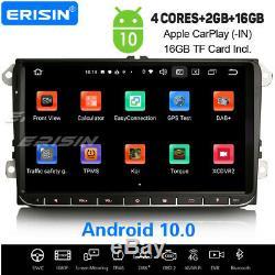 9 10.0 Android Car Navi For Vw Skoda Seat Golf 5 Jetta Tiguan Passat Eos