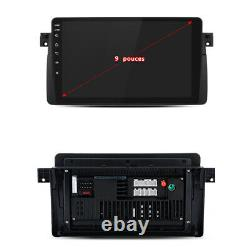 9 2 Din Autoradio Dsp Android 10.0 2+32g Gps Navi Bt Wifi Dab+ For Bmw 3er E46