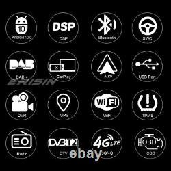 9 8-core Android 10.0 Dsp Autoradio Carplay Dab-navi Wifi Bmw 5er E39 X5 E53 M5