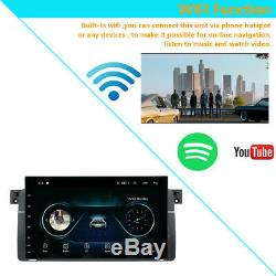9 Android 8.0 Car Gps Navi Full Touch Wifi Obd For Bmw E46 M3 Ma2240