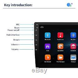 9 Android Car Stereo Mp5 Player Gps Navi 2din Wifi + Dual Camera