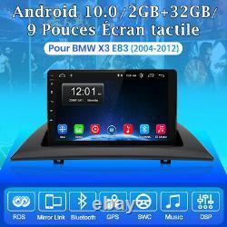 9 Autoradio Android10.0 For Bmw X3 E83 2004-2012 Navi Stereo Gps Wifi +cam Dab