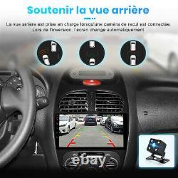 9 Autoradio For Peugeot 206 2001-2008 Android Dab Gps Navi Dsp Wifi Swc