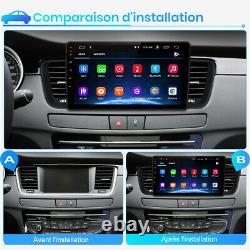 9 Autoradio Stereo Android 10.0 Gps Navi Wifi Dab For Peugeot 508 2011-2018