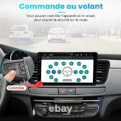 9 Autoradio Stereo Android 10.0 Gps Navi Wifi Dab+ For Peugeot 508 2011-2018