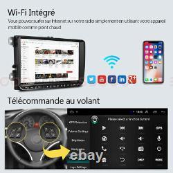 9 Autoradio Stereo Android Bluetooth Navi Rds For Vw Golf 5 6 Passat Touran