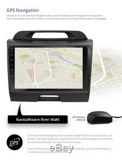 9 Car Audio With Android 7.1.1 Suitable For Kia Sportage Typ Sl 2gb Wifi Navi