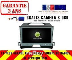 9 Car DVD Gps Navi Android 9.0 Dab + Kia Sportage (10-14) Rv5328