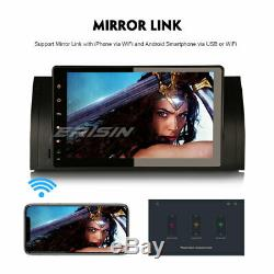 9 Dab + Android 9.0 Gps Wifi Car Fm Obd For Bmw 5 Series E39 X5 E53 M5 Navi