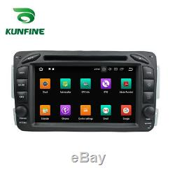 Android8.0 Octa Core Gps Car Stereo Navi Benz W163 / 209/203/170/210/168