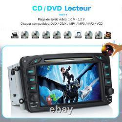 Android 10.0 Autoradio Gps Navi DVD Wifi 2-32g Dab For Mercedes Benz W203 W209