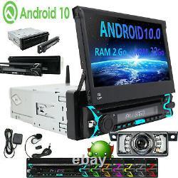 Android 10.0 Autoradio With Navi Navigation Bluetooth Dab - 1 Din DVD 2gb 32gb