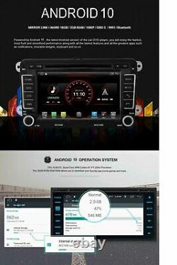 Android 10 Gps Radio Navi Sat For Benz C Class W204 2007-2011 Wifi Stereo