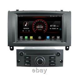 Android 10 Gps Radio Navi Sat For Peugeot 407 2004 -2010 Stereo Bt Headuni