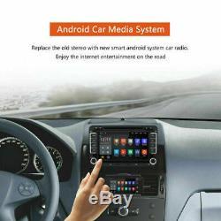 Android 7.1 Car DVD Navi Gps 2 Din Für Vw Golf 5 7 Touran Tiguan + Camera