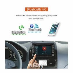 Android 7.1 Car Radio 2din Gps Navi DVD For Vw Golf 5 Passat Touran Polo Camera