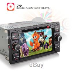 Android 7.1 Gps Navi DVD Dab + LCD For Ford Focus Fiesta Transit S / C-max