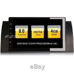 Android 8.0 Bmw E39 Car Radio E53 5er X5 M5 Tnt Dab + Gps Obd Navi Dvr 3g 97493f