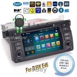Android 8.0 Bmw E46 Car Radio M3 Mg Zt Rover 75 3er DVD Gps Dab + Navi Obd 7862fr