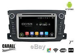 Android 8.0 Car DVD Gps Mercedes Benz Smart Usb Wi-fi Sd Navi