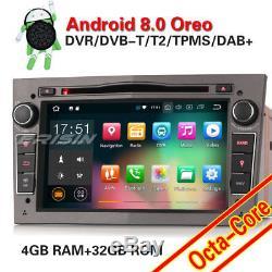 Android 8.0 Car Gps Navi Dab + Vauxhall Astra Corsa Vectra Zafira Antara Vivaro