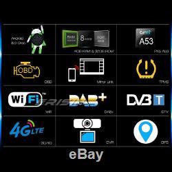 Android 8.0 Dab + Car Gps Navi CD Tnt Toyota Rav4 Corolla Hilux Land Cruiser