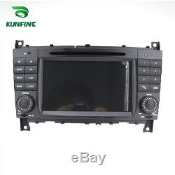 Android 8.0 Octa Core Car Navi Gps Stereo Benz C W203 / Clk W209 2004-2007