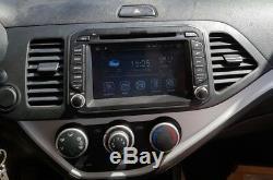 Android 8.0 Octa Core Gps Car Stereo Navi Kia Morning / Picanto 2011-16
