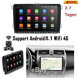 Android 8.1 9 Canbus Car Navi Usb Gps Wifi 4g For Vw Skoda Seat Ma2242
