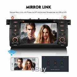 Android 8.1 Car Audio Wifi CD 4g Dab + Navi Bmw 3er E46 318 320 M3 Rover 75 Mg Zt
