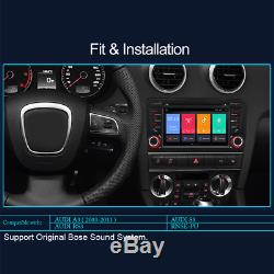 Android 8.1 Car Gps Navi DVD Dab Rds Canbus Dvr Obd Audi A3 Rs3 S3 Rs-pu