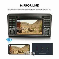 Android 8.1 Gps Car Dab + Dvr Tnt Mercedes Benz ML / Gl-class W164 X164 Navi