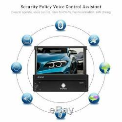 Android 8.1 Gps Navi Wifi Bluetooth 7 Car Radio Foldable Screen Mp5 Player 1din