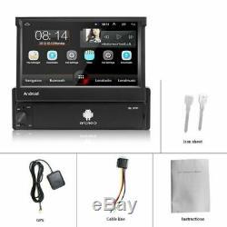 Android 8.1 Wifi Bluetooth Gps Navi Radio 7 Foldable Screen Mp5 1din