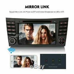 Android 9.0 Car Gps Dab + Tnt Usb DVD Mercedes E / Cls / G Class W211 W463 Navi