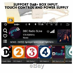 Android 9.0 Car Gps Dab + Usb Tnt Navi Bluetooth For Vw Touarge T5 Multivan